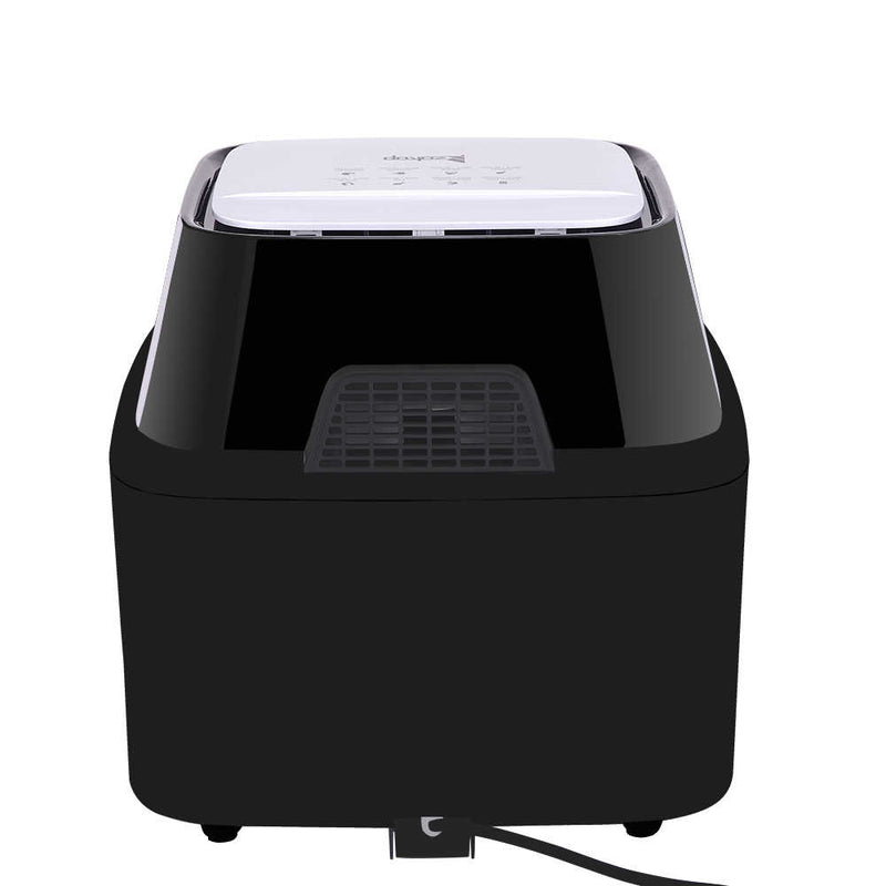 All-in-One Air Fryer Oven Family Size Roast, Bake, Dehydrator, Oilless Cooker Black