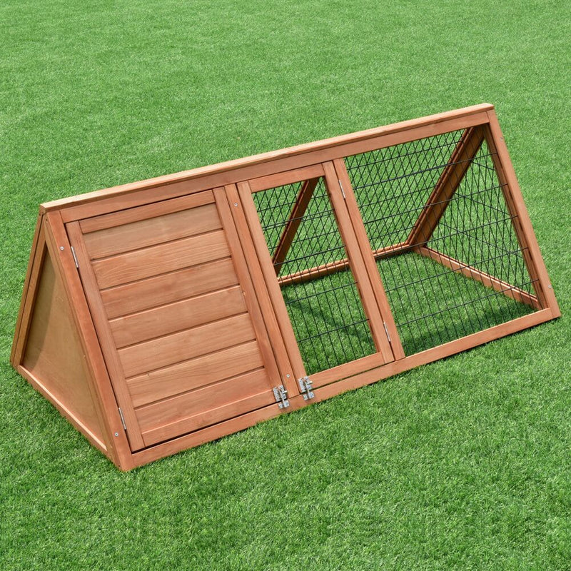 50 inches Wooden Rabbit Guinea Pig Hutch Wooden Rabbit Guinea Pig House
