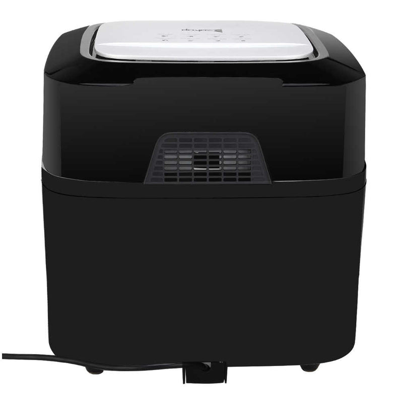 16L All-in-One Air Fryer 1800W Roast, Bake, Dehydrator, Oilless Cooker Black Black