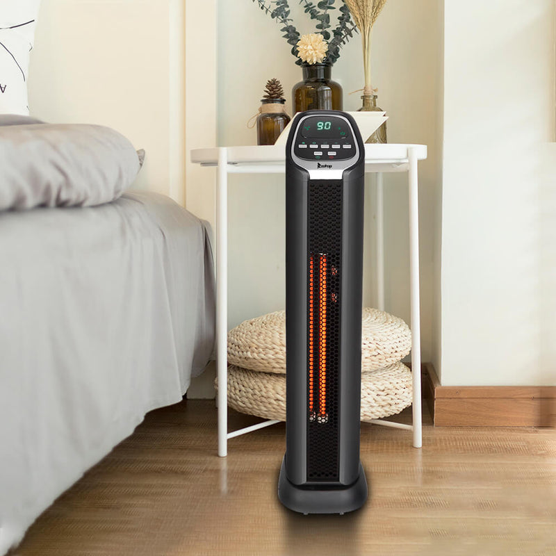 Space Heater Infrared Heater Movable