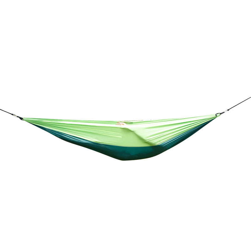 Nylon Parachute Fabric Double Hammock Dark Green & Green
