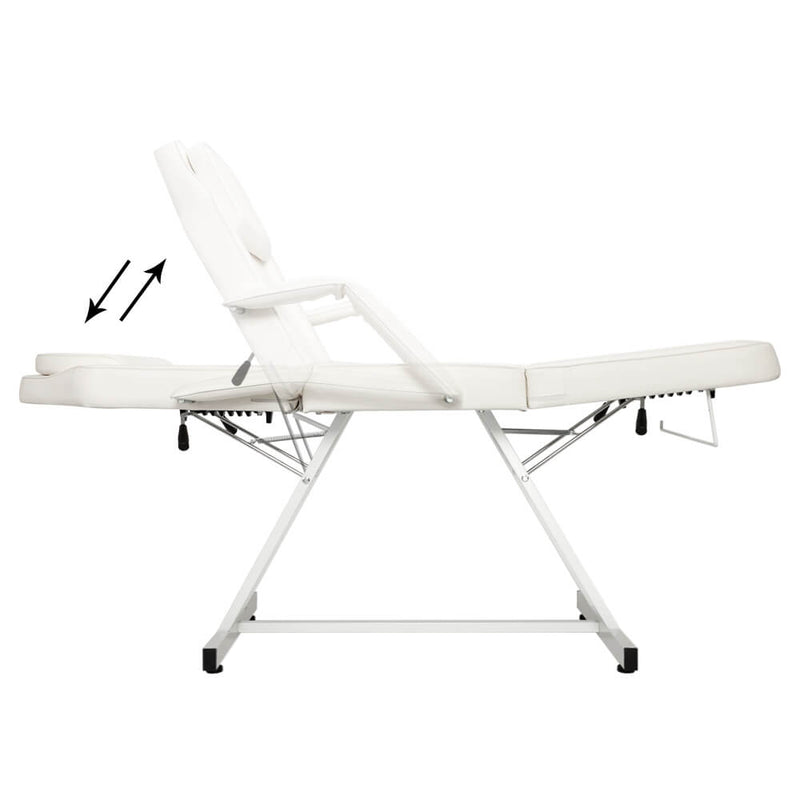 Dual-purpose Barber Chair Without Small Stool White