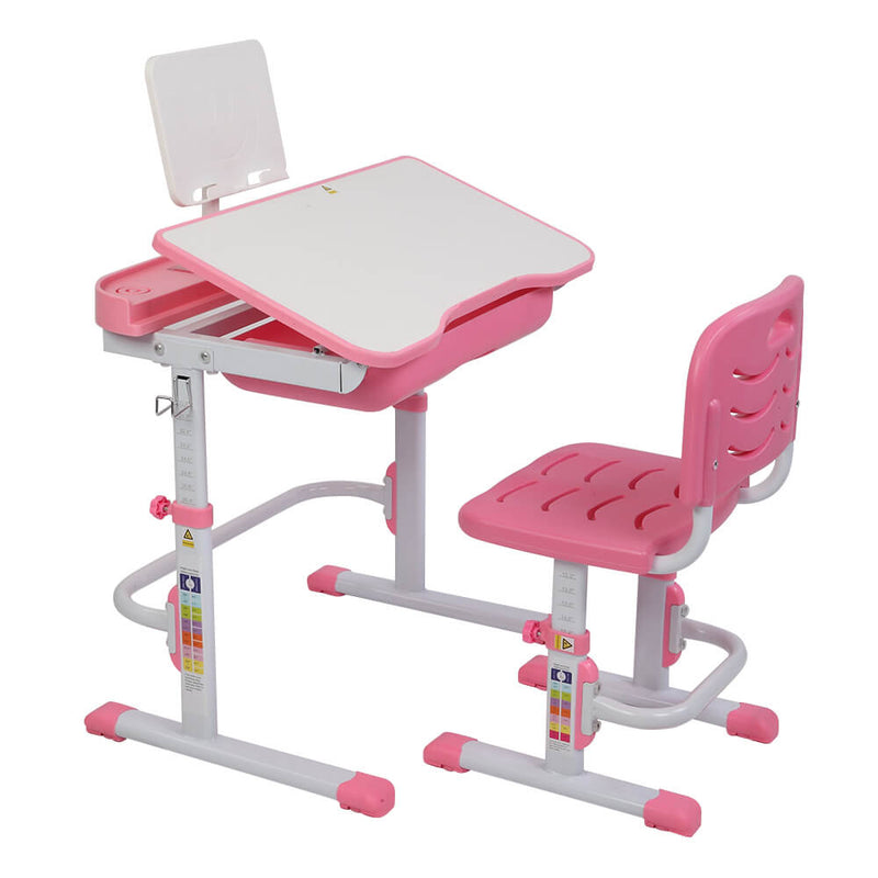 Lifting Desk and Chair Set Table Can Tilt Children Learning Multifunctional Study Desk