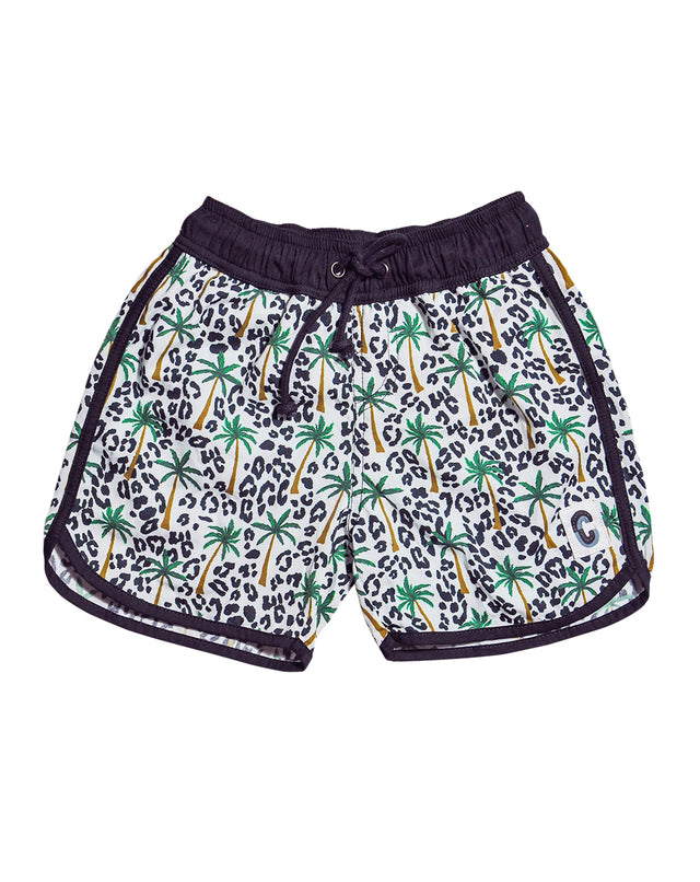 Tropical Fiesta Organic Cotton Beach Shorts