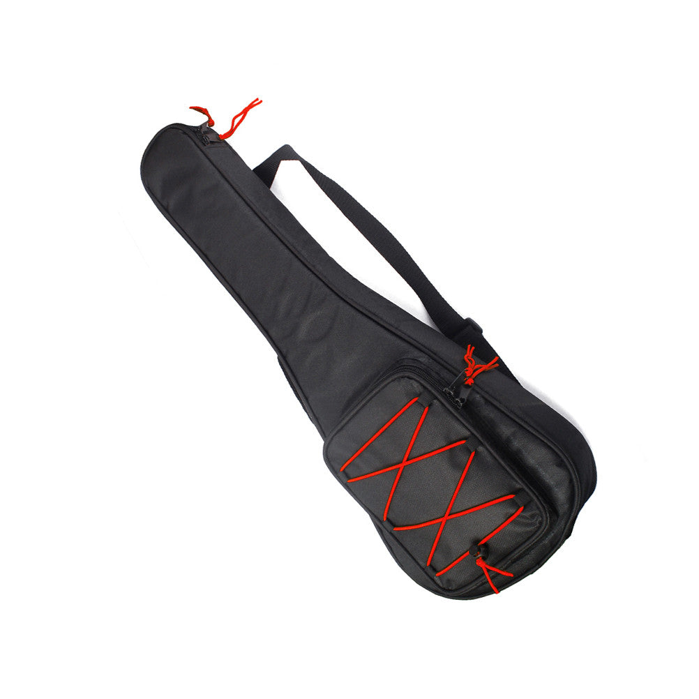 Durable Red Cord Guitar Padded Gig Bag