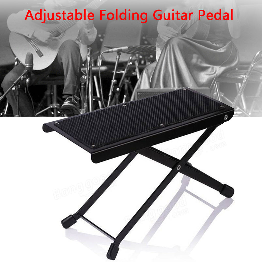 Adjustable Metal Guitar Footstool