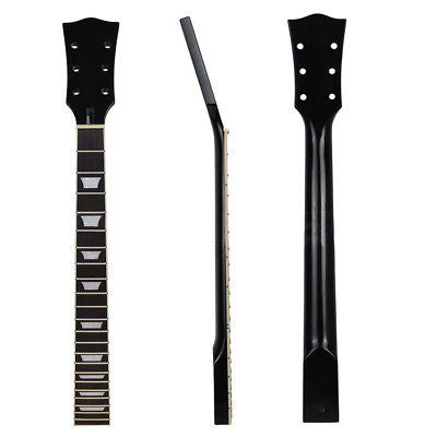 Electric Guitar Neck For Guitar Neck Parts Rosewood Maple Rosewood 22 Fret Black