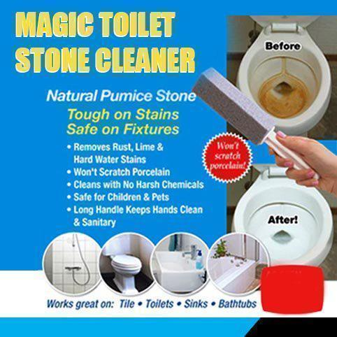 Magic Toilet Stone Cleaner Vickypick