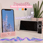 Portable Phone Speaker Stand