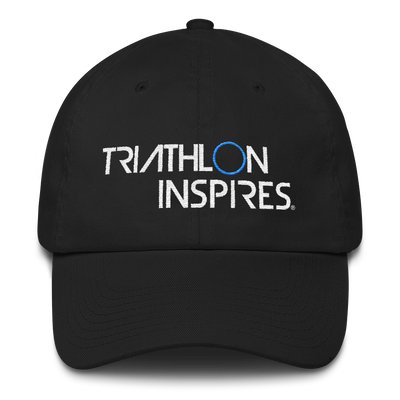 Triathlon Inspires® Cotton Cap - Blue Circle