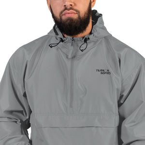 TEST Embroidered Champion Packable Jacket 2.5 TEST Triathlon Inspires Store Graphite S