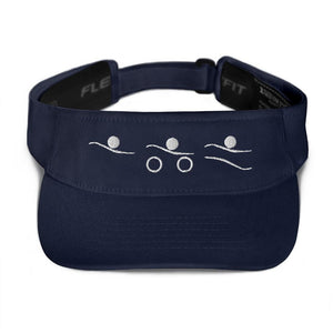 Visor - Tri-Icons Male (W) Triathlon Inspires Store Navy