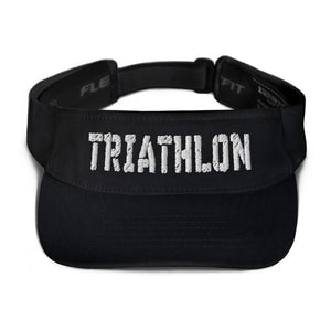 Visor - TRIATHLON Design (W) Triathlon Inspires Store Black