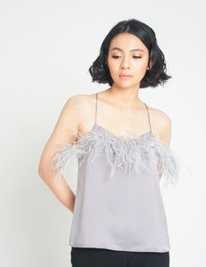 Cams Feather Silk Top