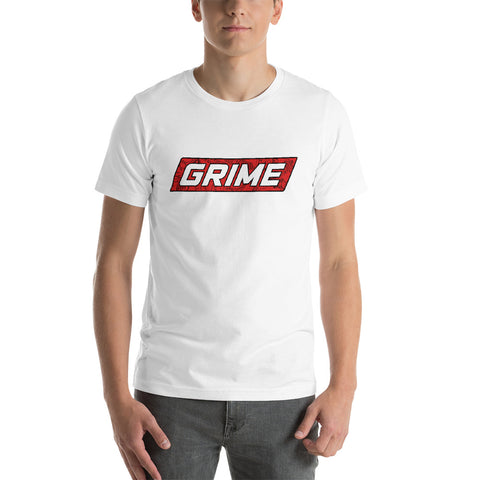 """GRIME"" Box Logo T-Shirt"