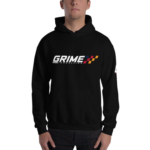 GRIME Logo Hooded Sweatshirt