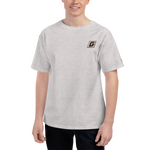 G Embroidered Men's Champion T-Shirt