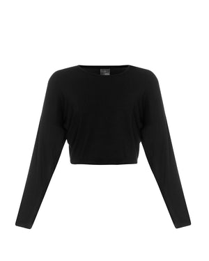 Fiji Crop Top - Black