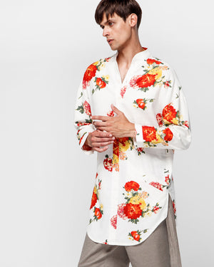 Fiori Shirt - White