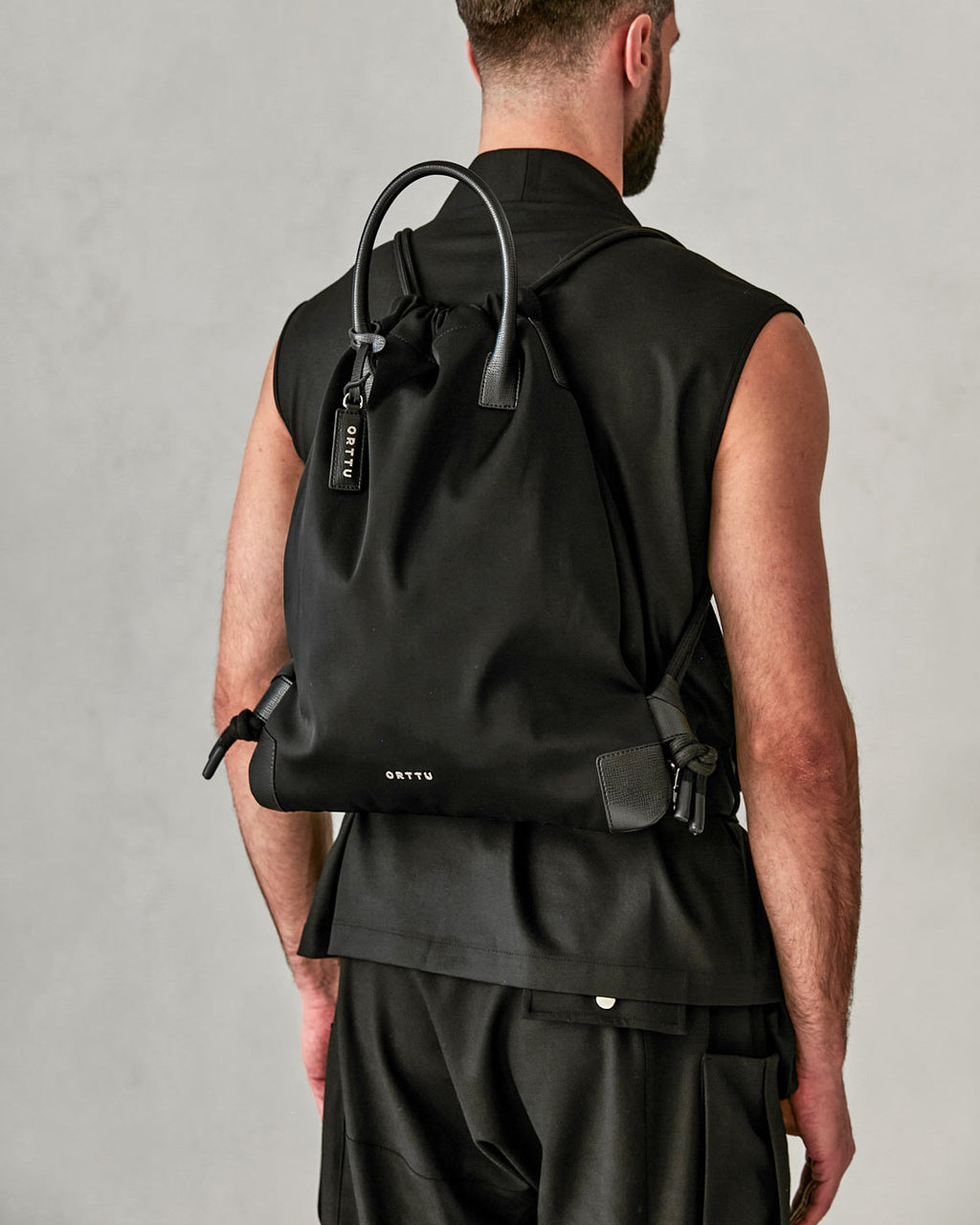 Wire Backpack - Black