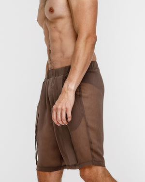 Crystal Shorts - Brown