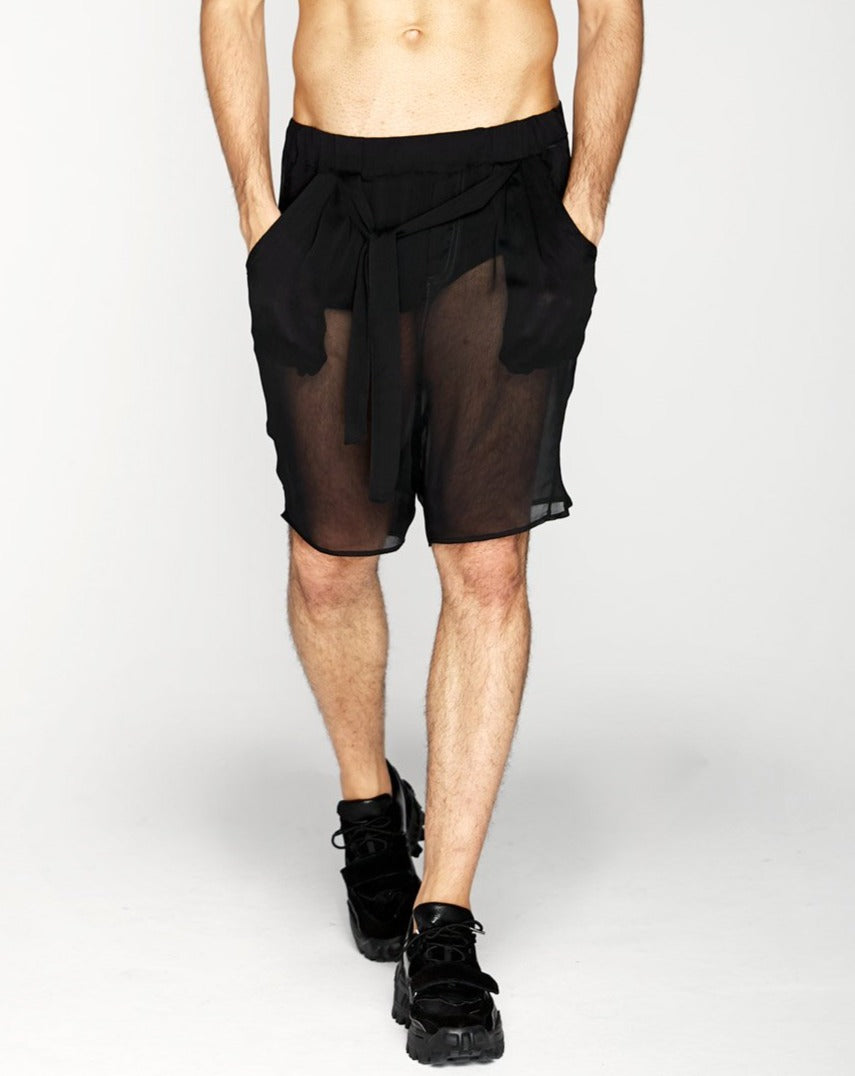 Crystal Shorts - Black