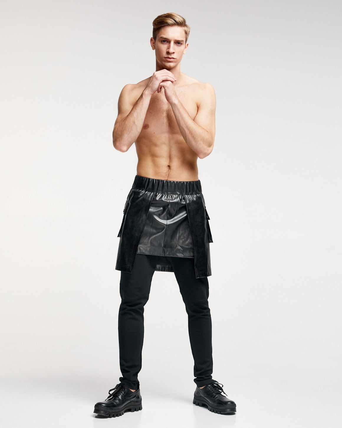 Kilt-Skirt - Black