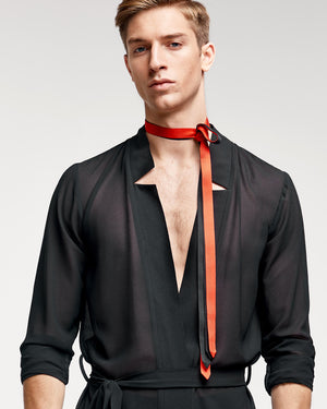 Vogue Necktie Set - Black