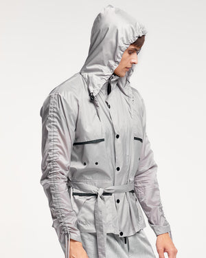 Milan Raincoat - Grey