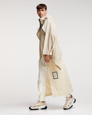 Dominator Raincoat - White