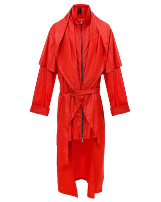 Red Sparrow Raincoat