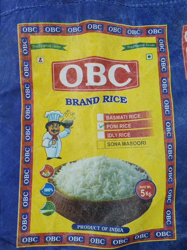 OBC Ponni (Boiled) Rice (25kg)