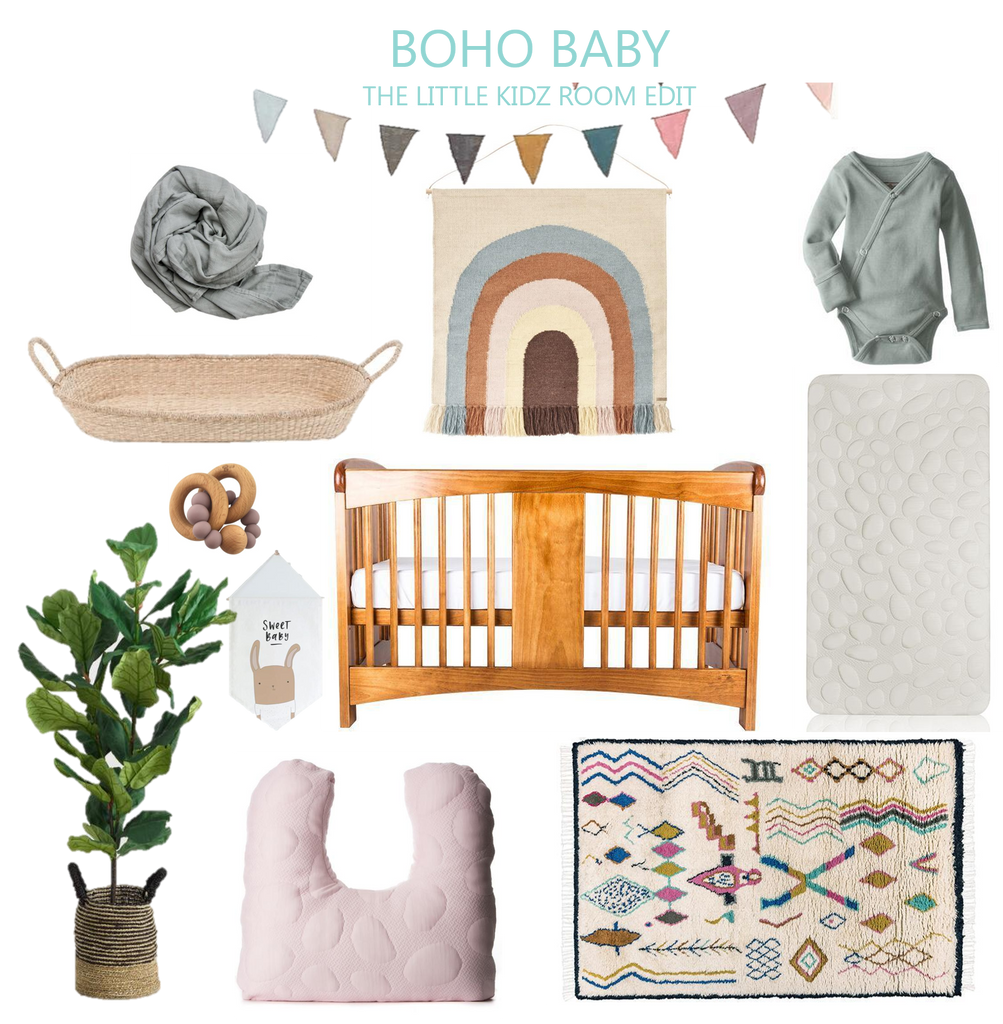 Baby Room Ideas - Boho Baby Nursery
