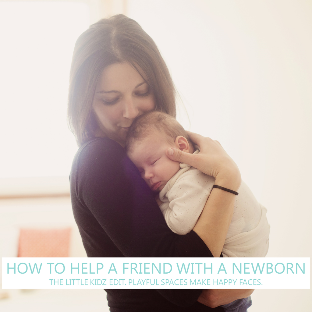How to help a friend with a new baby