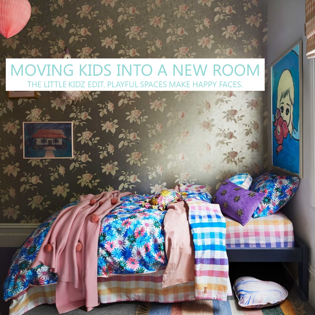 Room Transition - Tips For Moving Kids Into a New Room