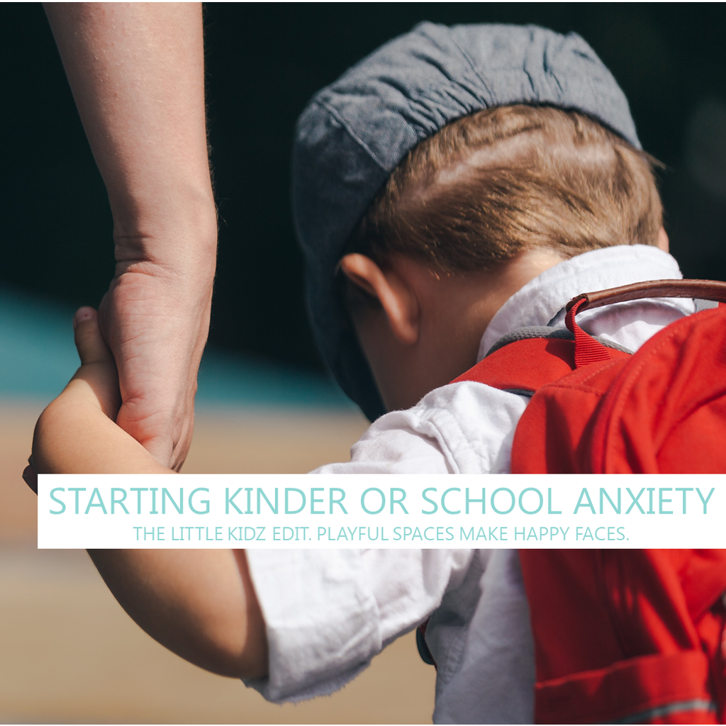 Starting Kinder or School?  Tips for Getting Past The Anxiety
