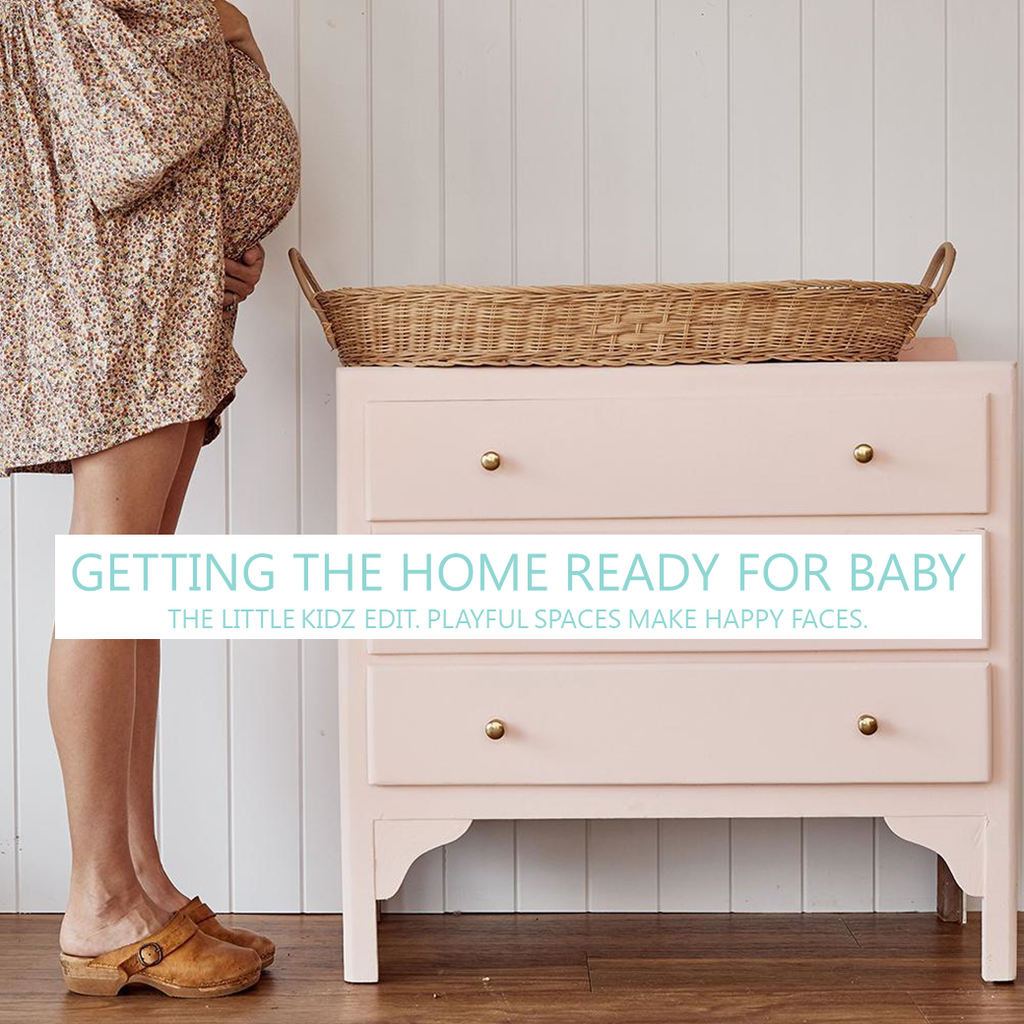 Making Space For Baby - Getting The Home Ready For Baby