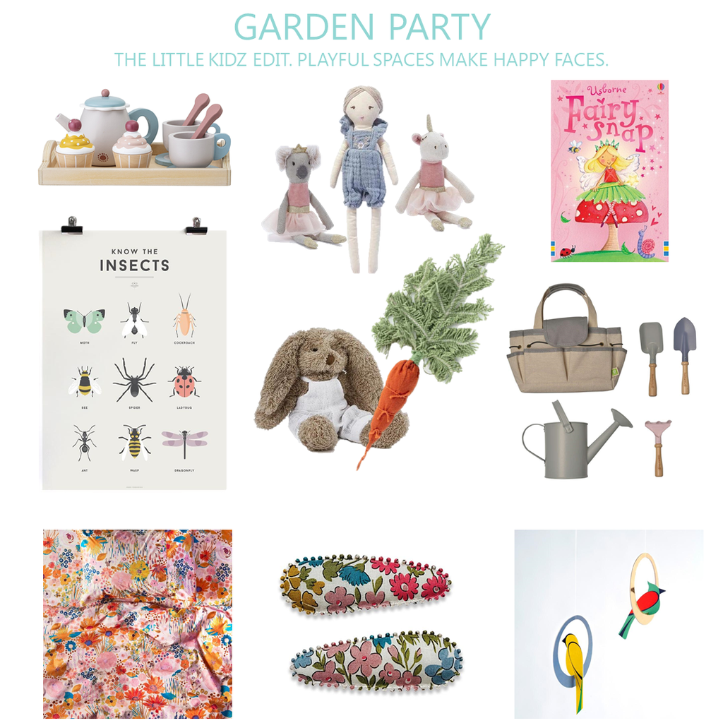 Kids Bedroom And Gift Ideas - Garden Party