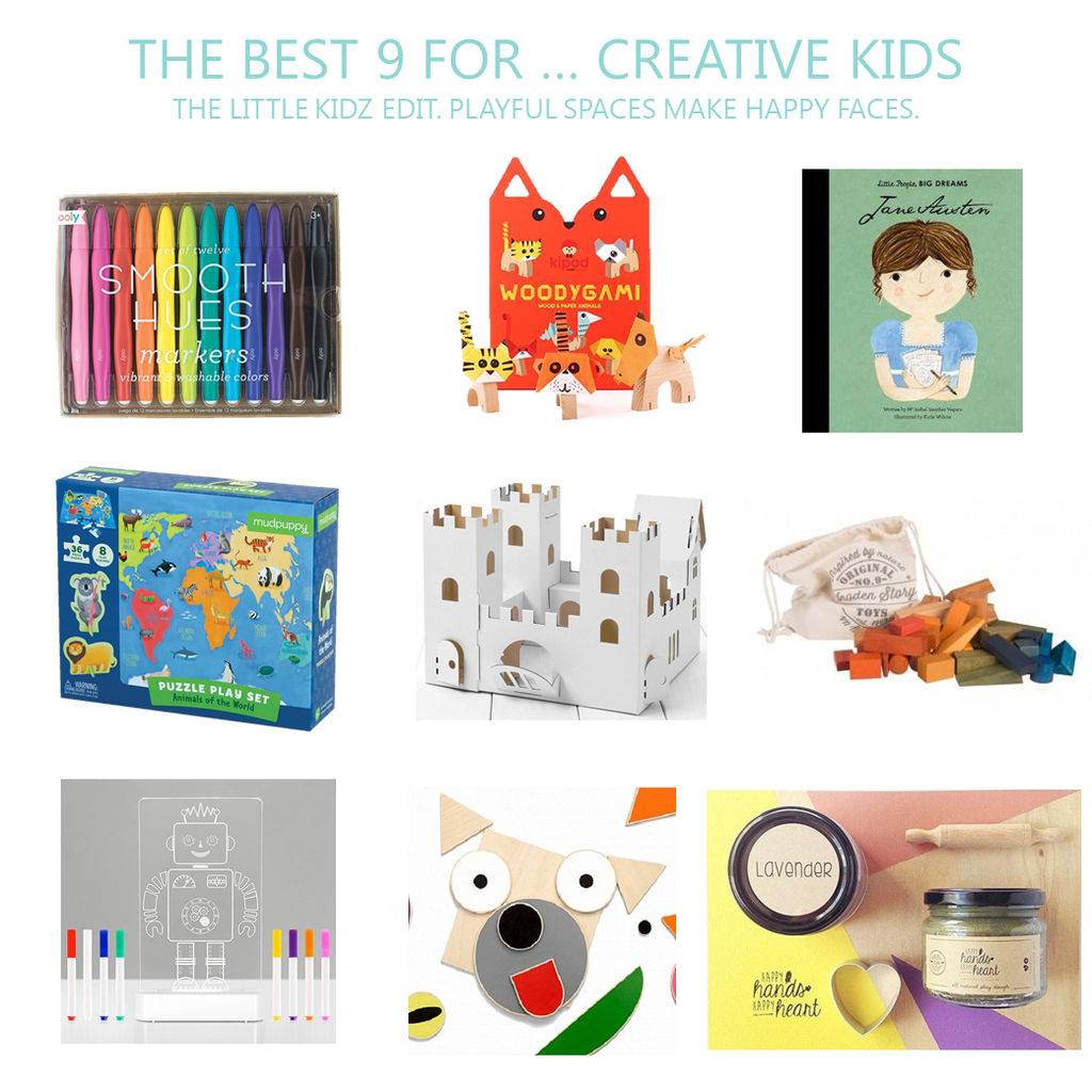 Best Gifts For Kids. Do your kids love creative projects?  Here are 9 of our favourite products.