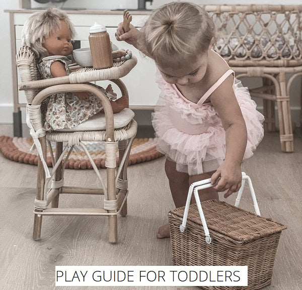 Play Guide for Toddlers 1-3 Years  Old