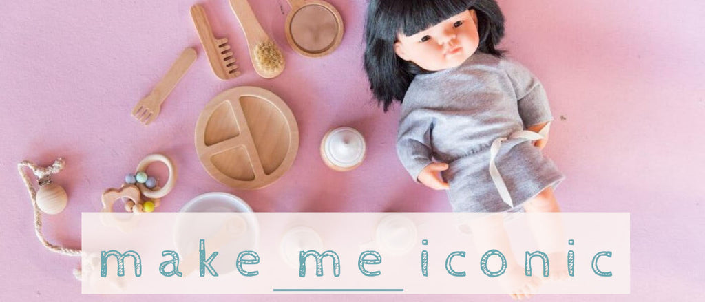 make me iconic wooden creative toys at The Little Kidz Closet
