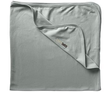 Loved Baby Organic Cotton Swaddle Blanket - Seafoam