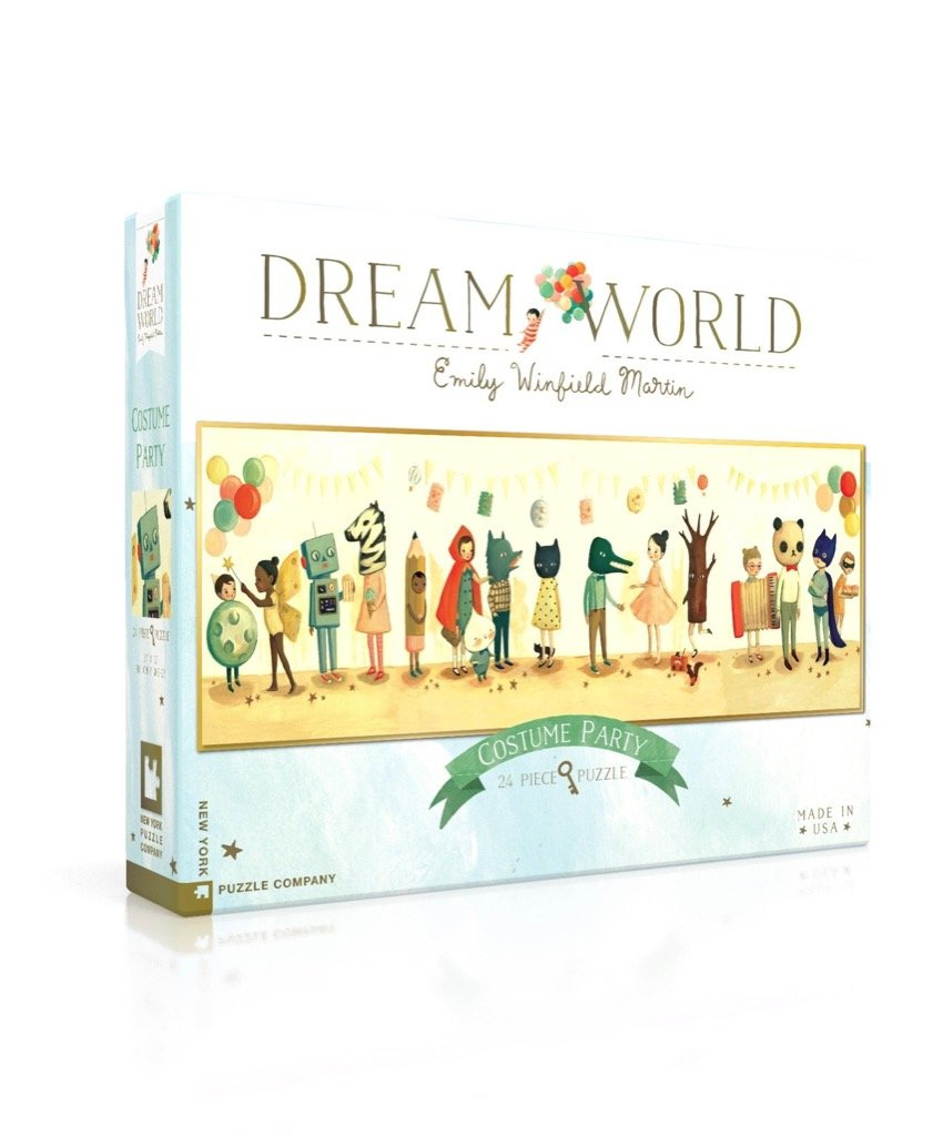 New York Puzzle Company Dream World 24 Piece Puzzle - Costume Party