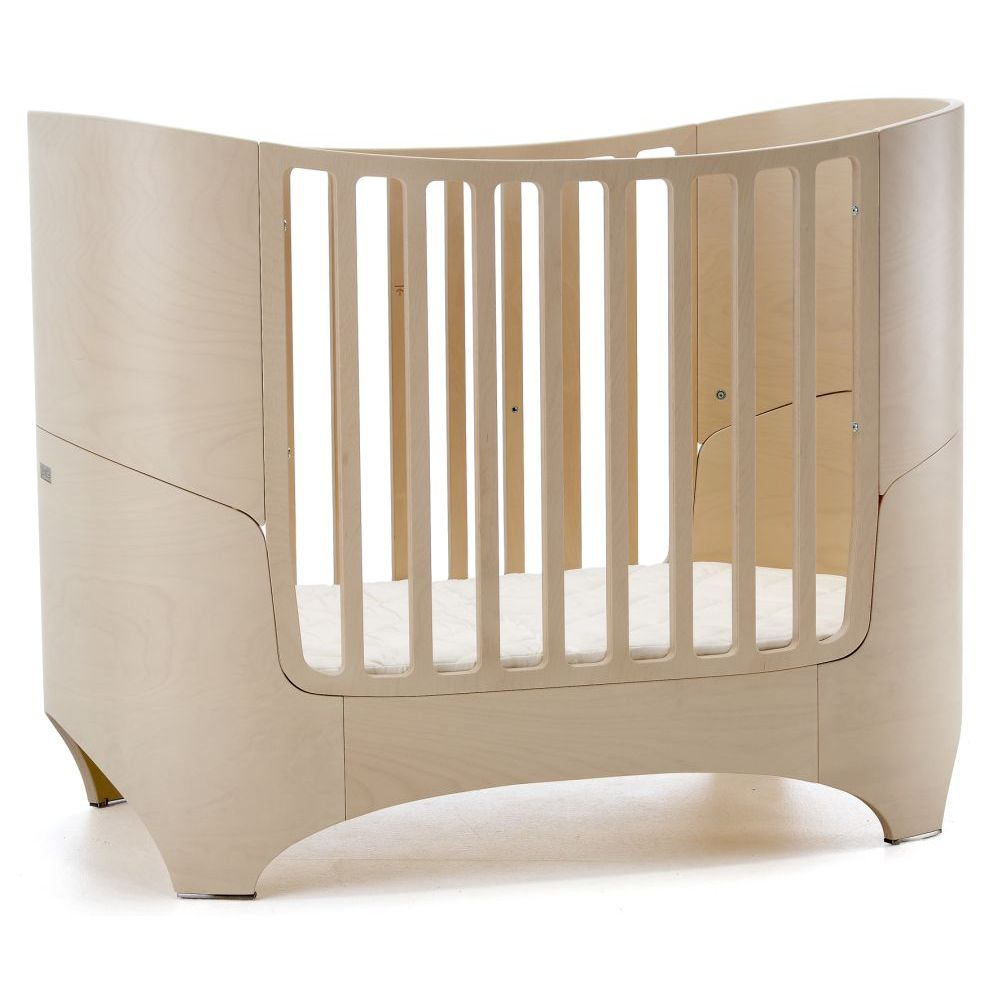 Leander Cot and Junior Bed Whitewash