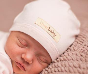 Loved Baby Organic Cotton Baby Cutie Cap  Blush