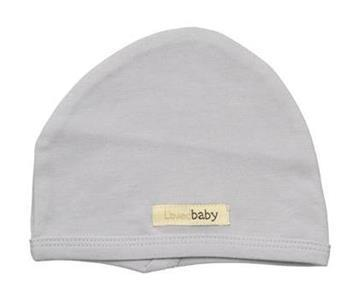 Loved Baby Organic Cotton Baby Cutie Cap  Light Grey