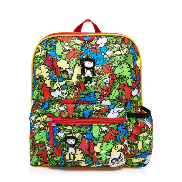 Zip and Zoe Kids Backpack Dino