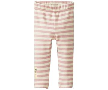 Loved Baby Organic Cotton Leggings  Mauve Stripe