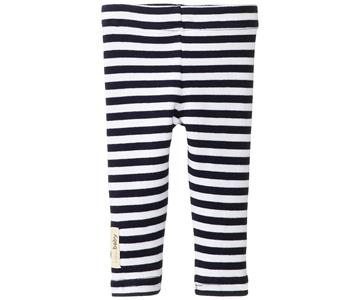 Loved Baby Organic Leggings Navy Stripe