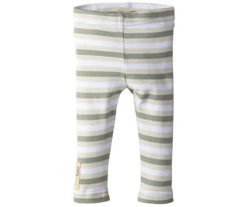 Loved Baby Organic Cotton Leggings  Seafoam Stripe